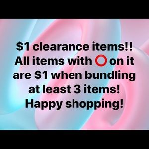 $1 Clarence items